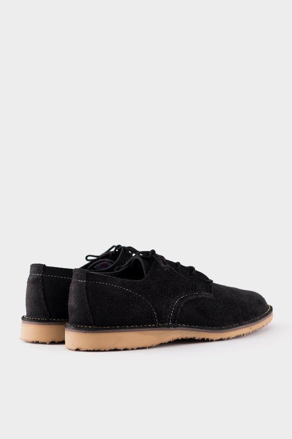 Red Wing Oxford Black Suede
