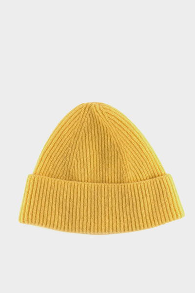Seven.Stones Fold Up Beanie Hat Dafodil