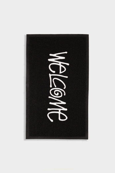 Stussy PVC Welcome Mat Black