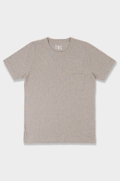 The Workers Club SS T Shirt Grey Marl