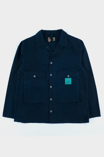 Nigel Cabourn USMC Shirt Jacket Black Navy