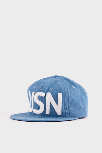 USN Cap Blue Chambray -