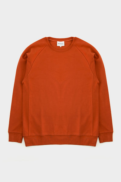 Norse Projects Vorm Summer Interlock burned Red