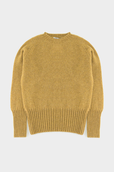Academy And Co Womens Wool Knit Sweater Mustard