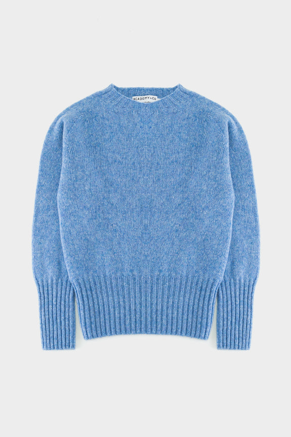 Academy & Co Wool Knit Sweater Ice Sea