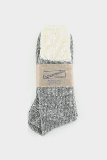 Anonymous Ism Grey Natural Woollen Sock