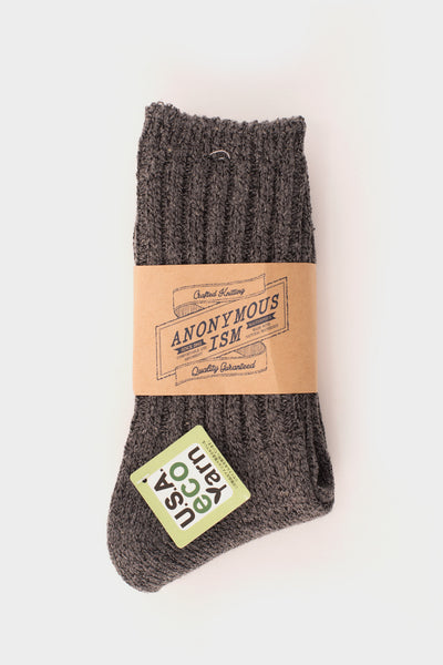 Eco Yarn Socks Grey -