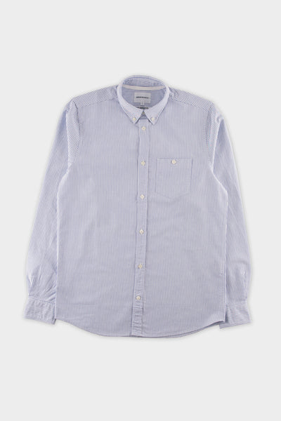 Norse Projects Anton Oxford Shirt Blue Stripe