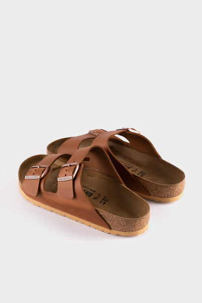 Birkenstock Arizona BS Antique Pull Cognac