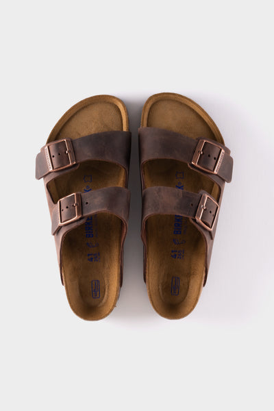 Birkenstock Arizona Oiled Leather SFB Habana