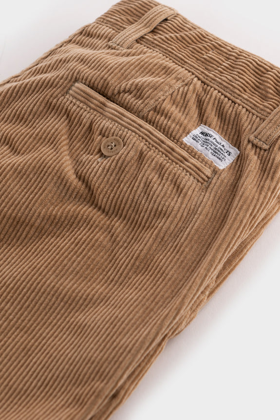 Norse Projects Aros Corduroy Tan