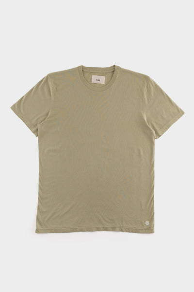 Folk Assembly T Shirt Pale Pale Olive