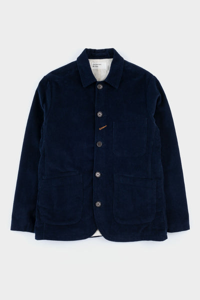 Universal Works Bakers Jacket Corduroy Navy