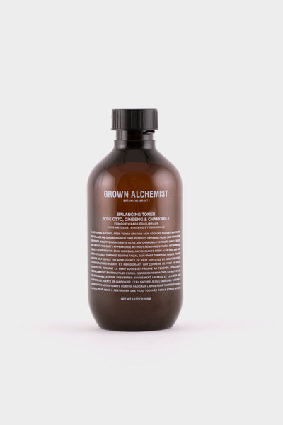 Grown Alchemist Balancing Toner Rose Otto, Ginseng and Chamomile -