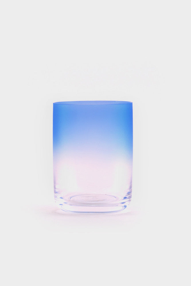 HAY Medium Blue Gradient Glass -