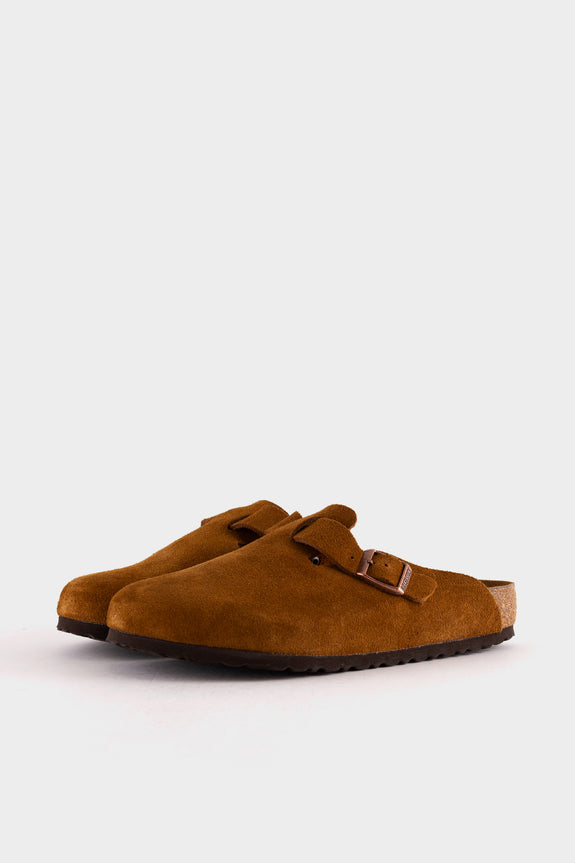 Birkenstock Boston BS Mink Suede