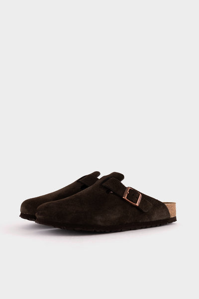 Birkenstock Boston BS Mocha Suede