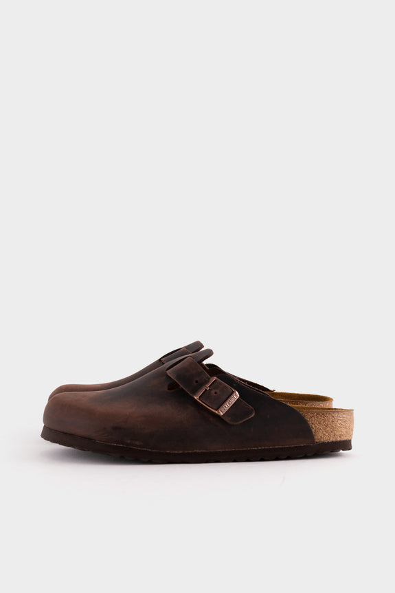 Birkenstock Boston - Oiled Habana