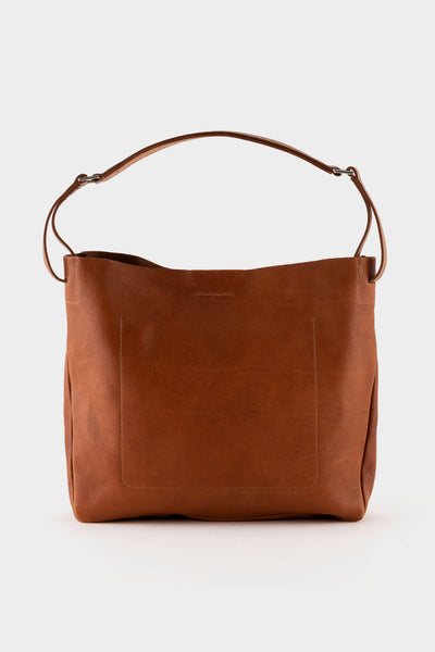Ally Capellino Cleve Calvert Leather Shoulder Bag - Tan