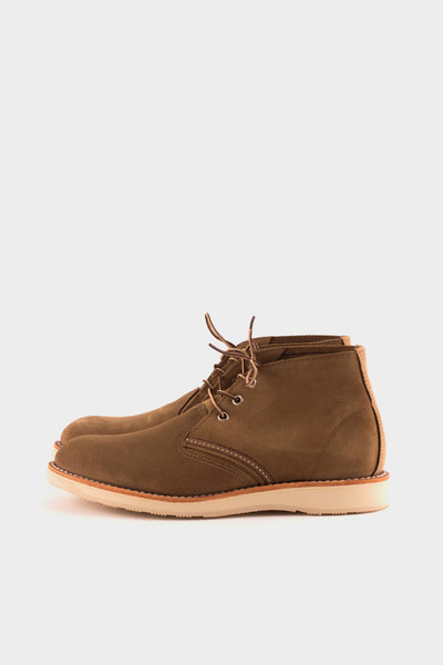 Chukka Boot Olive Suede -  - 1