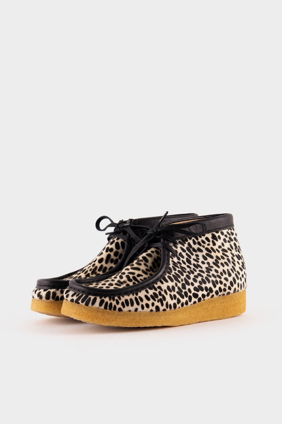 Clarks Originals Wallabee Boot Cheetah Print Made In Italy