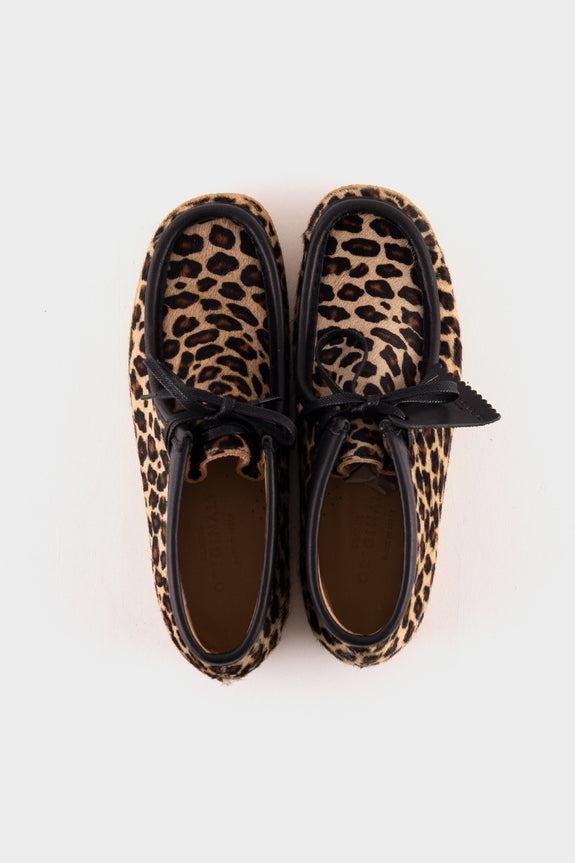 Clarks Originals Wallabee Boot Leopard Print Made In Italy