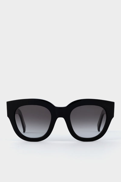 Monokel Cleo Black Green Gradient Sunglasses