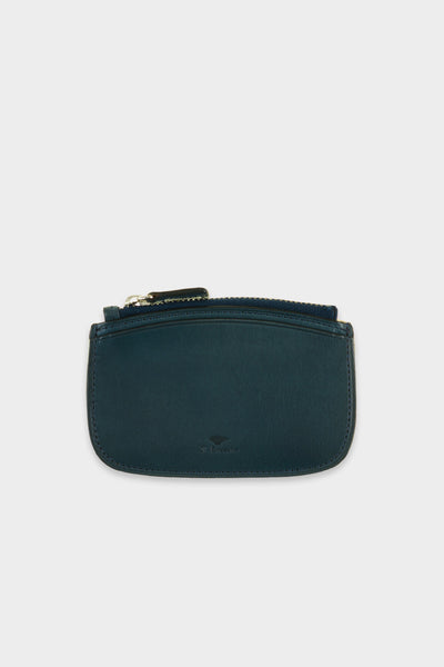 Zip Coin Purse Navy -  - 1