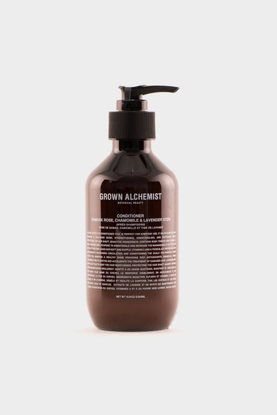Grown Alchemist Conditioner Damask Rose, Chamomile & Lavender Stem -