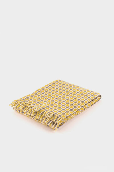 Lapuan Kankurit Corona Blanket in Yellow -