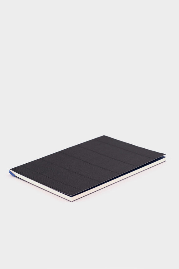 Nomess Corrugated Notebook Black A5 -