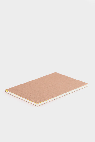 Nomess Corrugated Notebook Brown A5 -