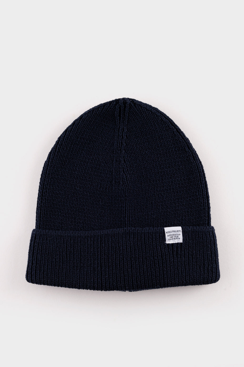 b684380be Norse Projects Cotton watch Beanie Dark Navy – academyclothes