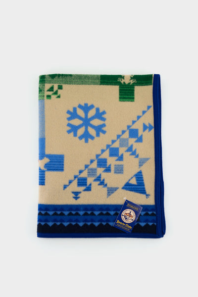 Pendleton Muchacho Crib Blanket Coyote Steals Fire