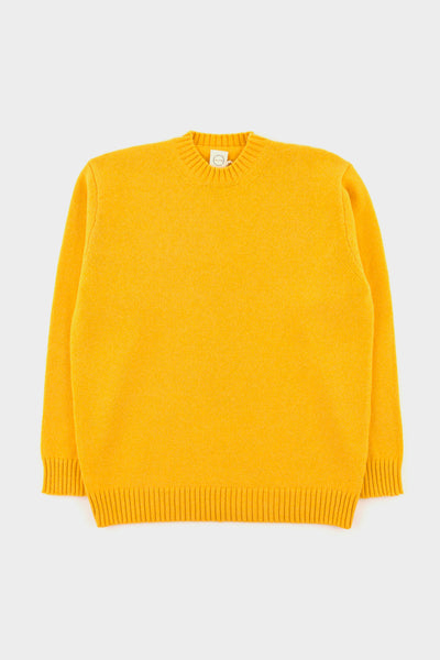 Country Of Origin Yellow Plain Crew