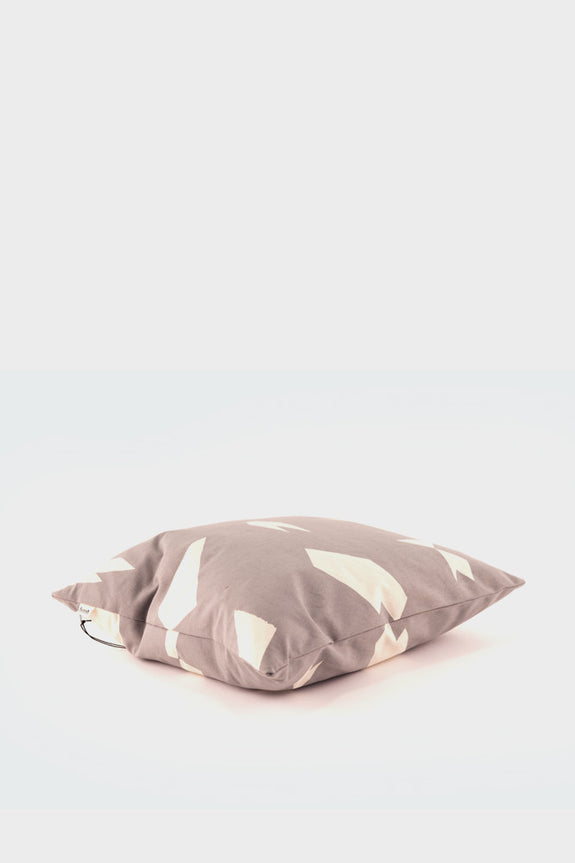 Ferm Living Cut Cushion: Grey -