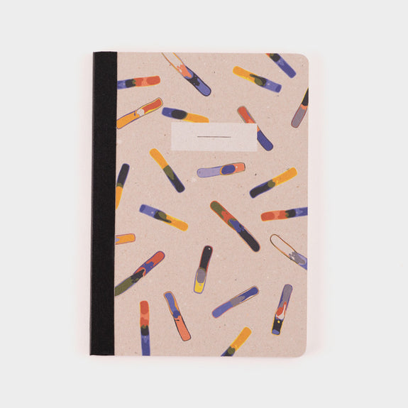 Papier Tigre A5 Notebook: Flakes -