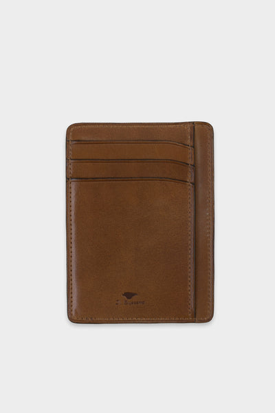 Document and Card Holder Brown -