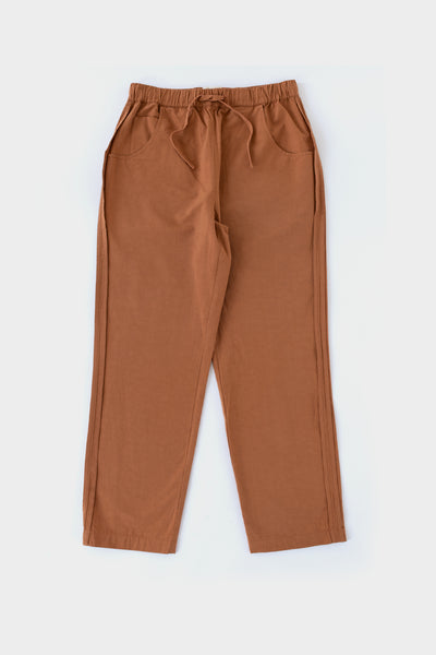 Folk Womens Draw Pant Dusty Teak