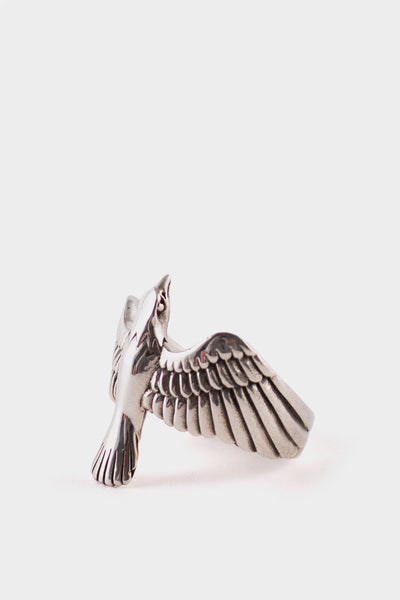 Maple Eagle Ring 925 Silver