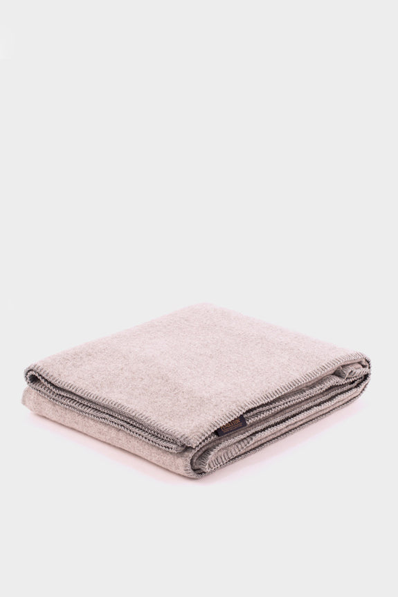 Pendleton Washable Eco-Wise Wool Blanket Grey -