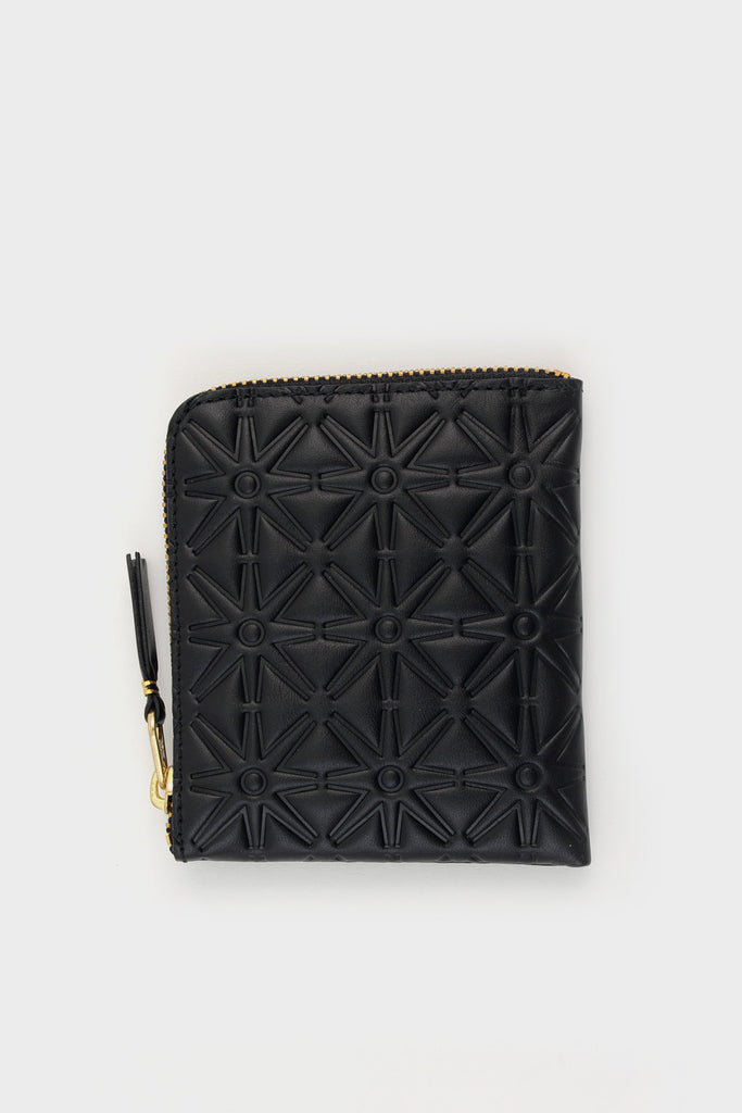 Zip Wallet Emboss Black -  - 1