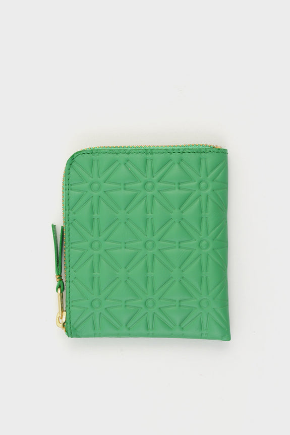Zip Wallet Emboss Green -  - 1