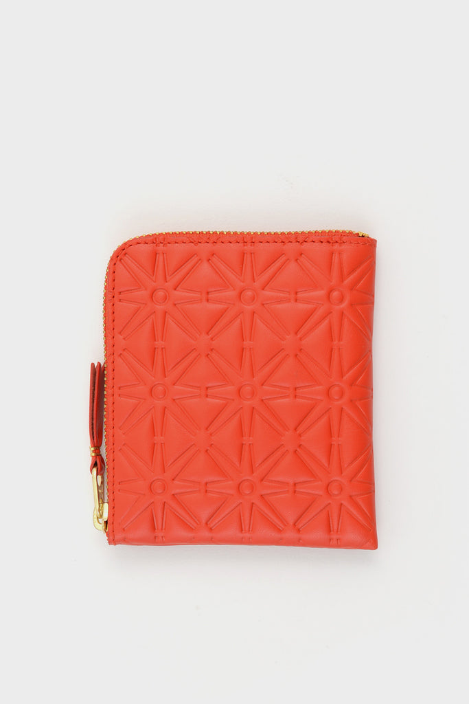 Zip Wallet Emboss Orange -  - 1