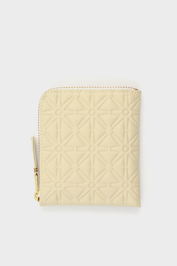 Zip Wallet Emboss White -  - 1