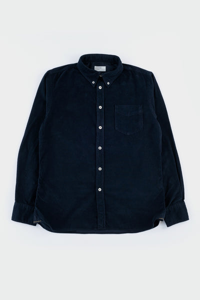 Universal Works Everyday Shirt Needlecord Navy