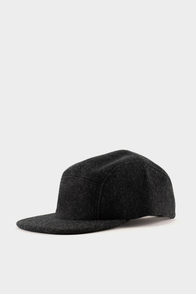 Filson 5 Panel Wool Cap - Charcoal Grey
