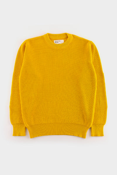 Universal Works Fishermans Sweater Sunshine