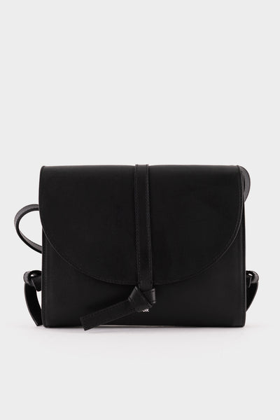 Folk Womens Santo Leather Bag - Black