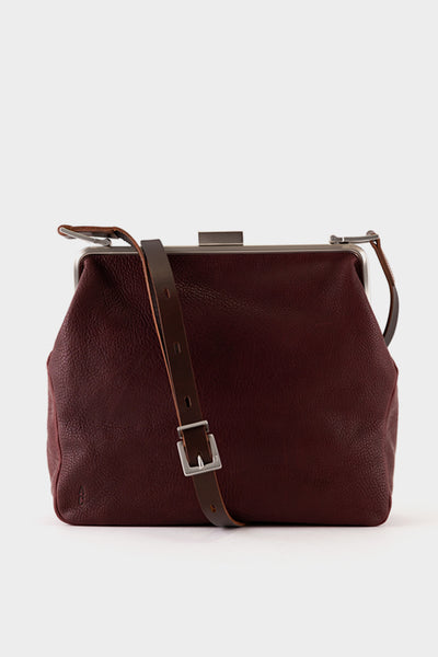 Ally Capellino Calvert Frame Cross Body Frame Bag Large - Plum